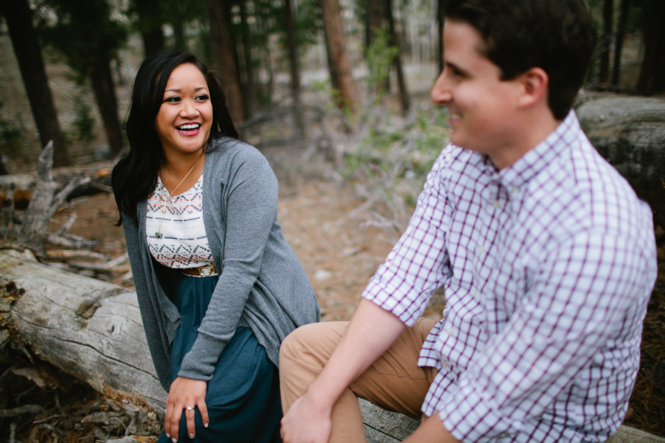 Mt. Charleston Engagement Session