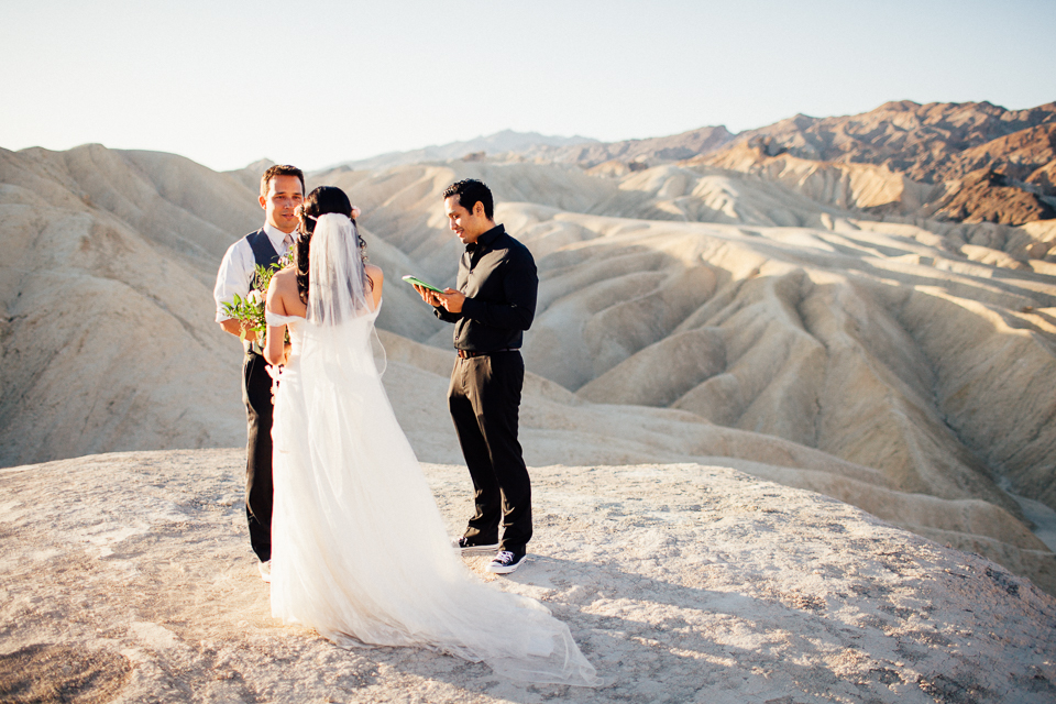 death valley elopement