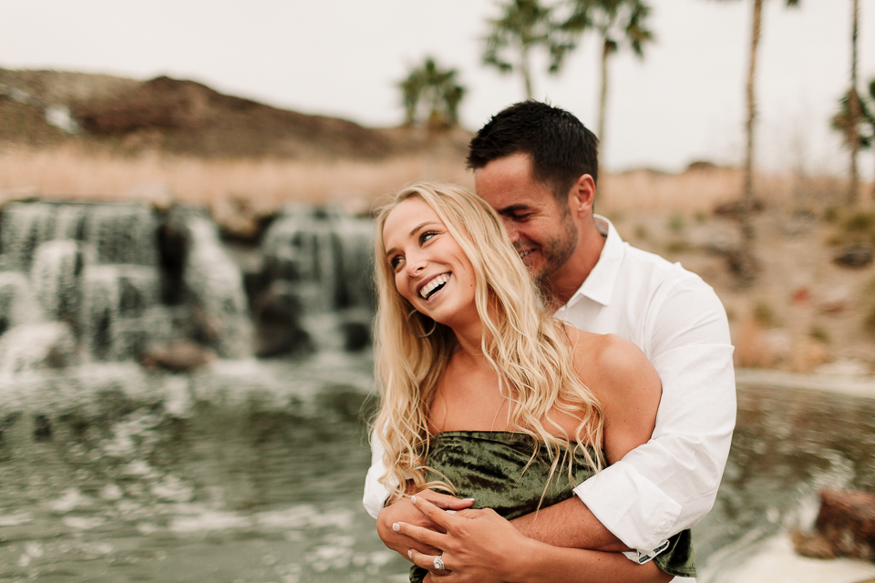 tropical engagement session