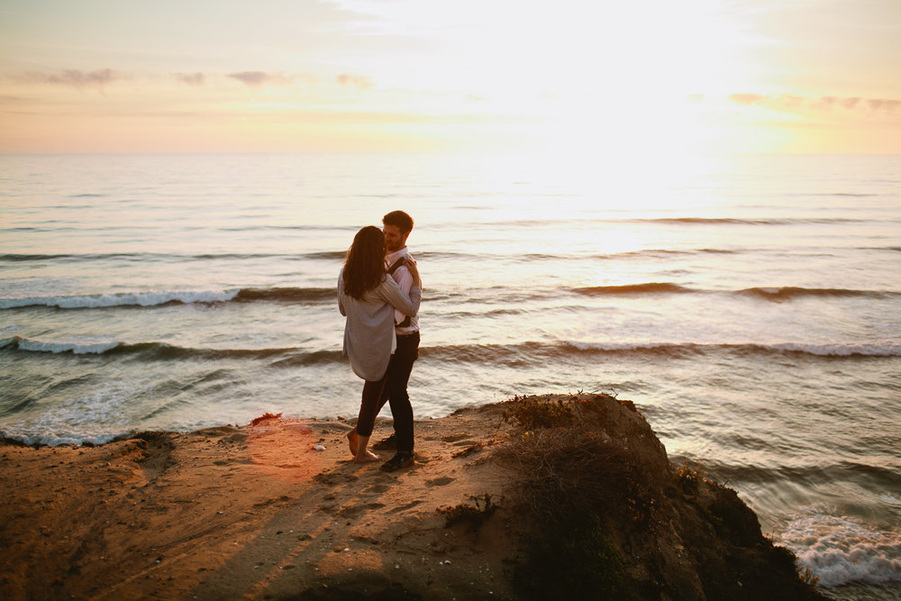 Torrey Pines san diego engagement