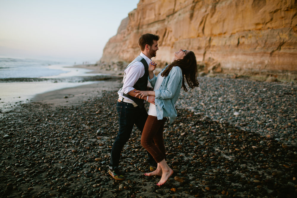 San Diego engagement photographers | Rachel + Phil