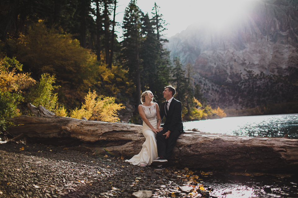 Mammoth wedding photography