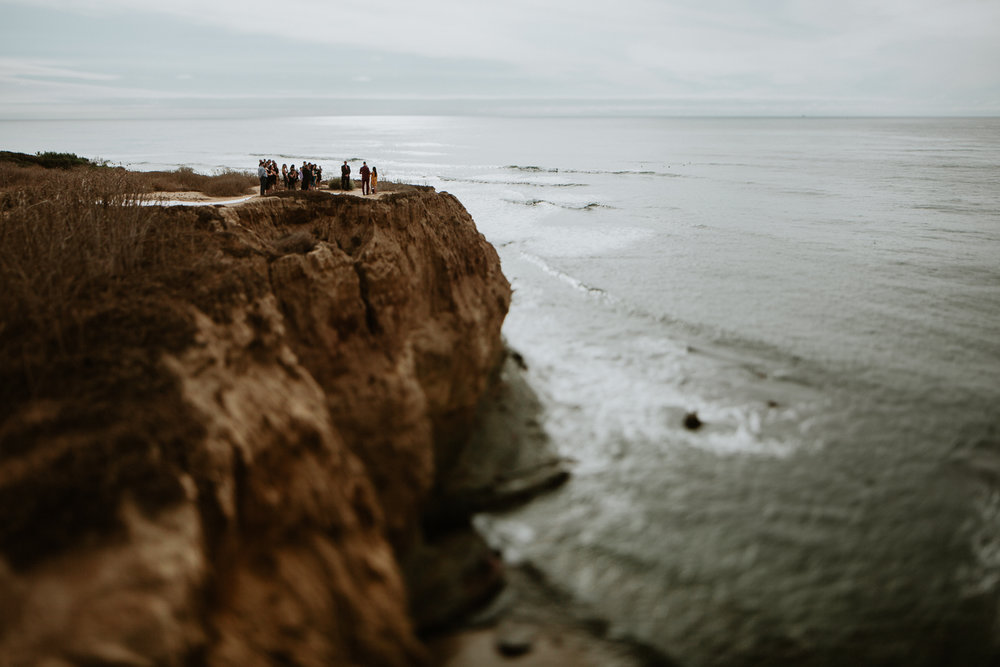san diego Sunset Cliffs Elopement