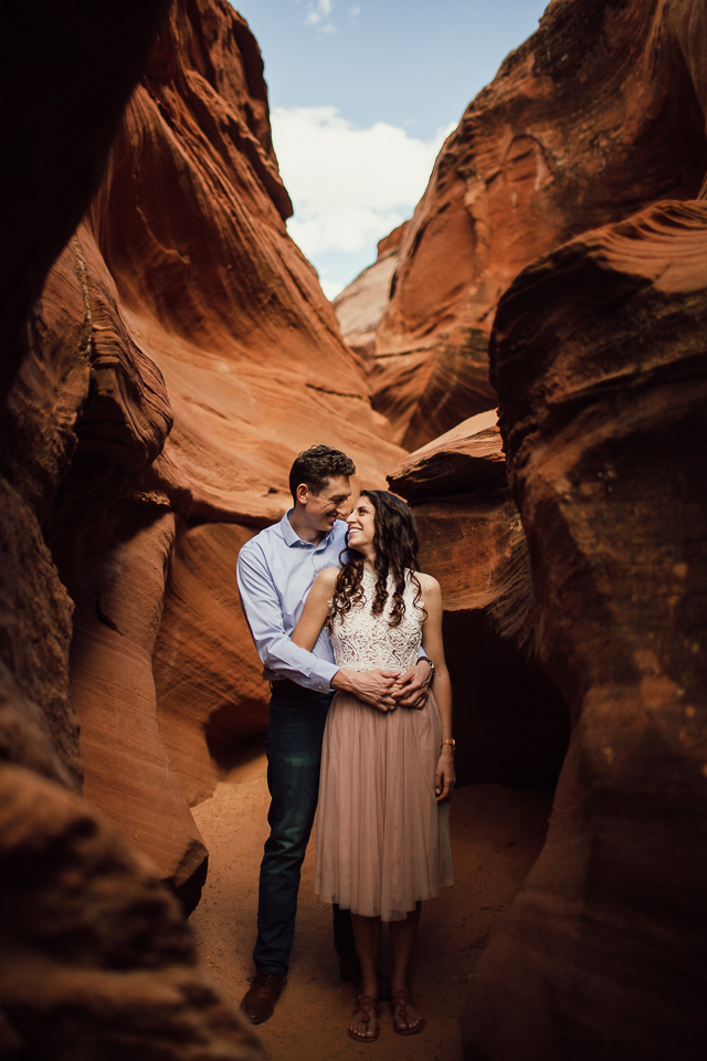 Antelope Canyon Engagement session