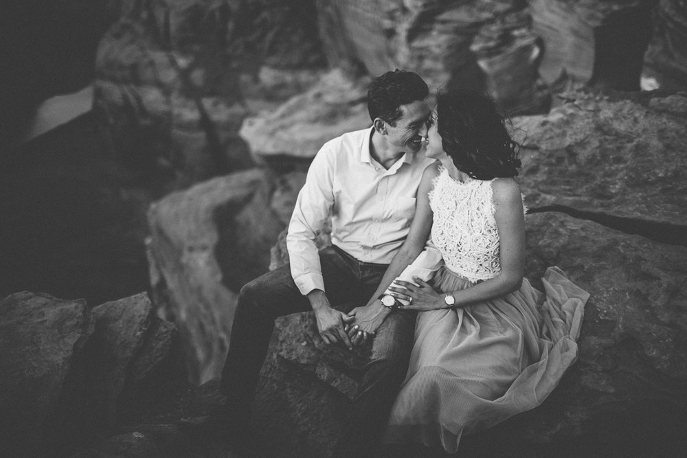 horseshoe Bend engagement session