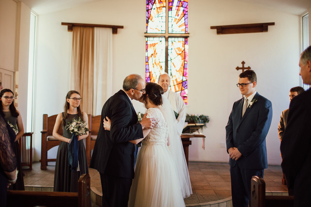 San Diego church wedding