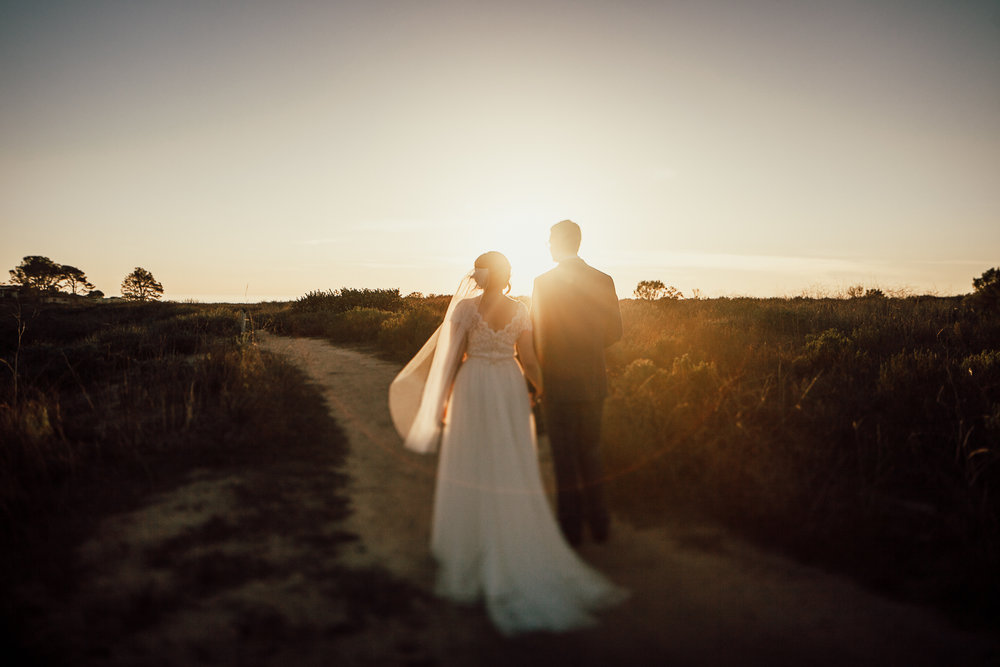 intimate San diego wedding