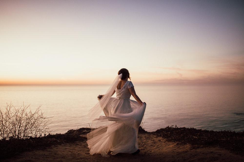Spinning bride