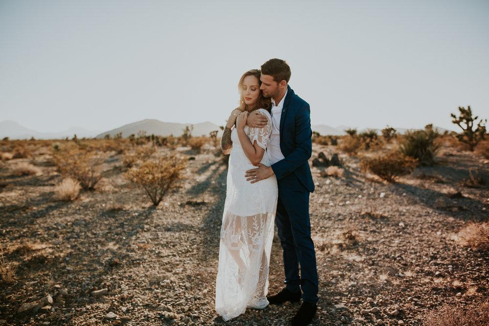 las vegas desert elopement