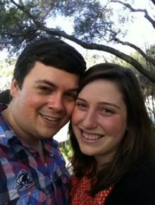 Gavin and Sarah Glatt.
