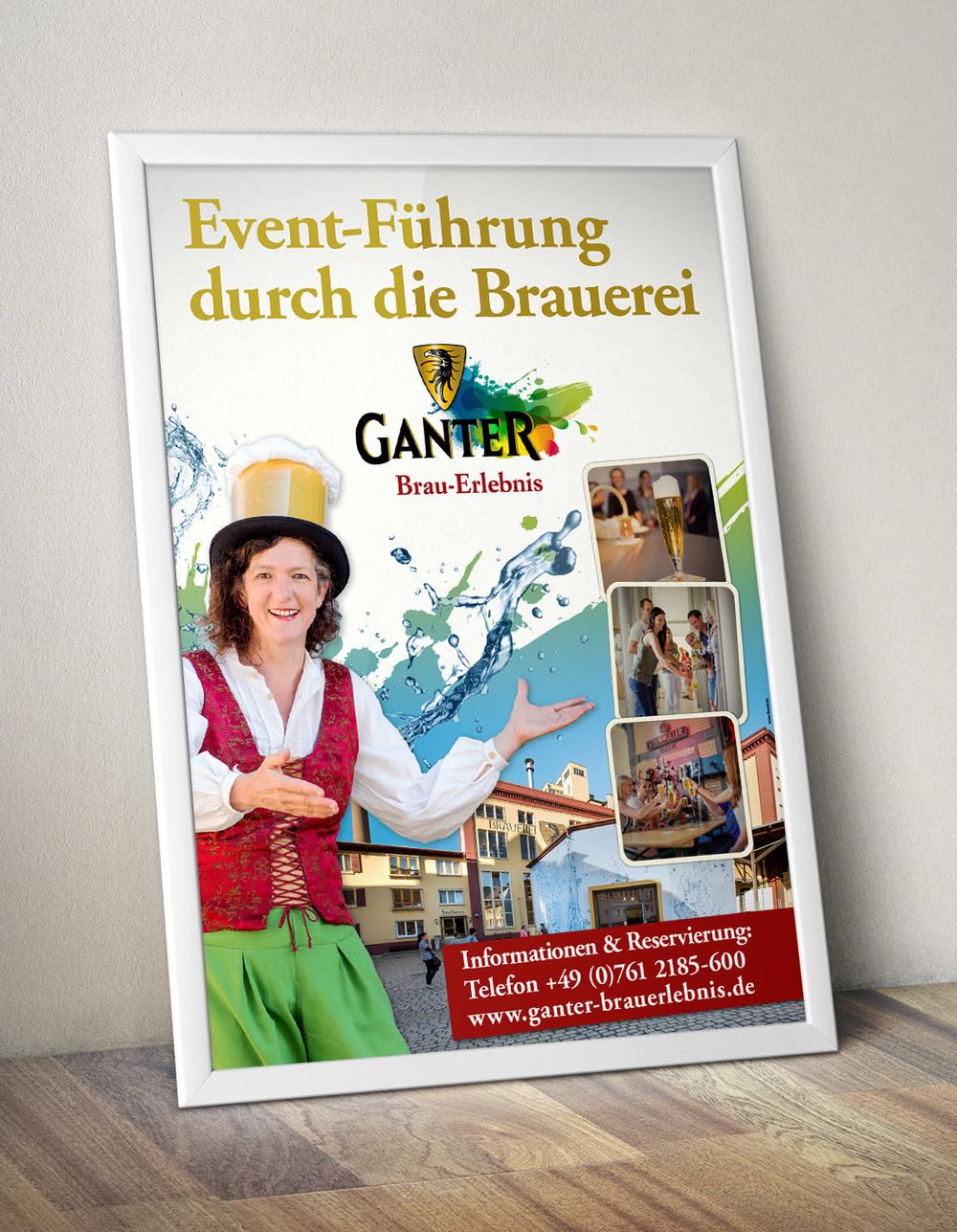 GANTER Brau-Erlebnis Poster
