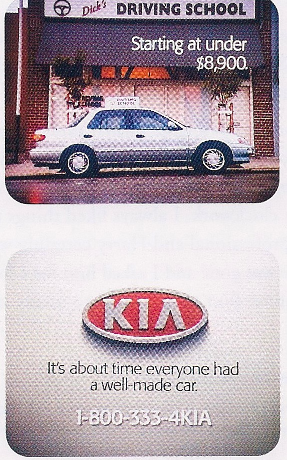 "Kia - ""Well Made Car"" TV"