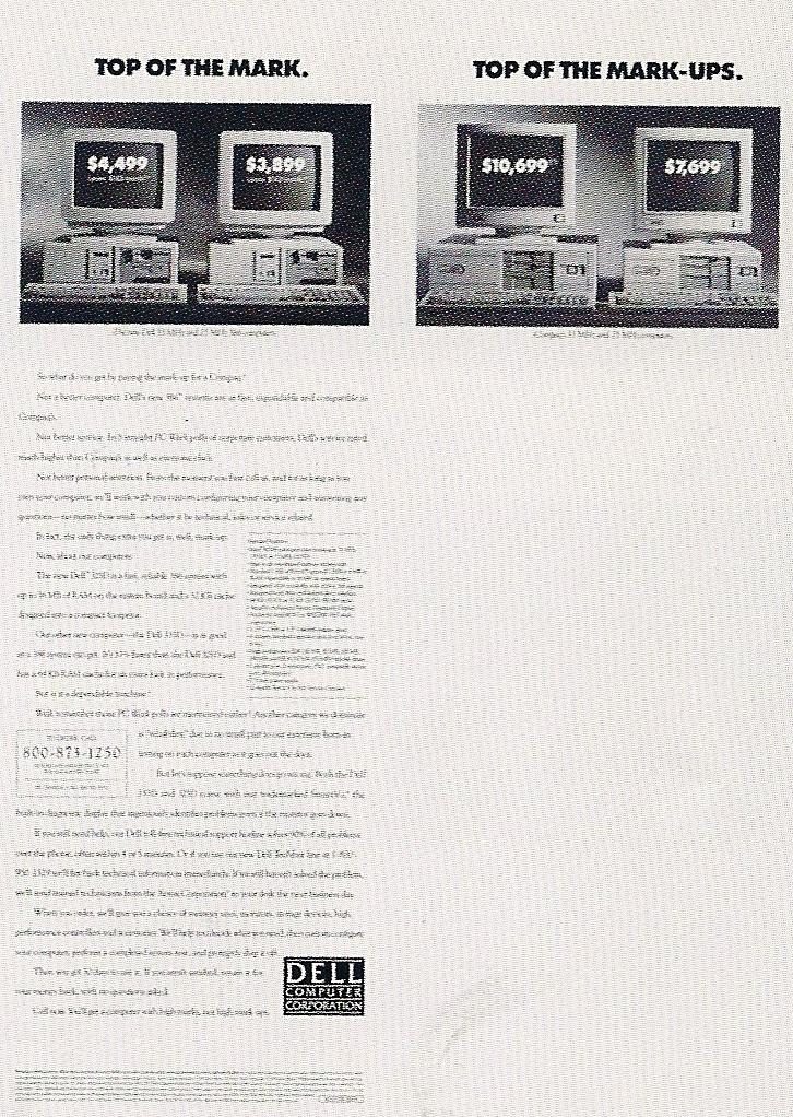 Dell Compter - Anti-Compaq
