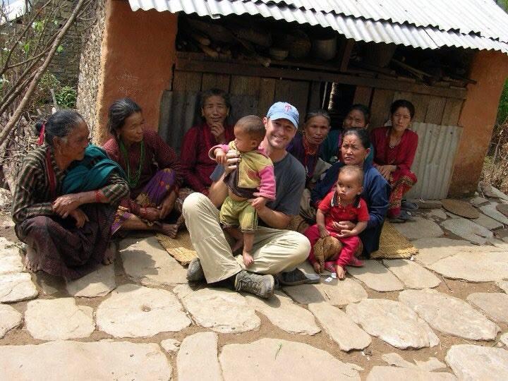 Bob in Nepal.