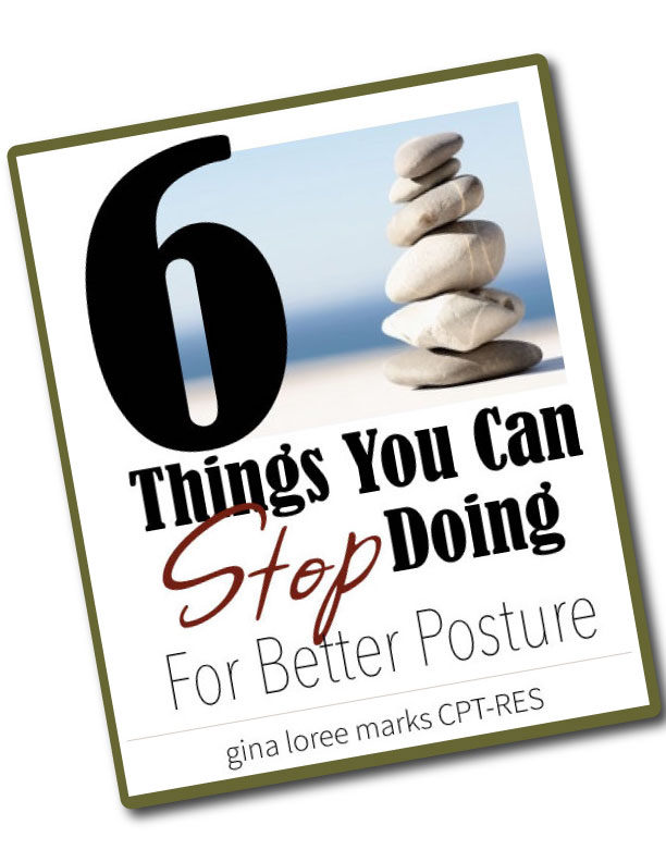 six things for better posture