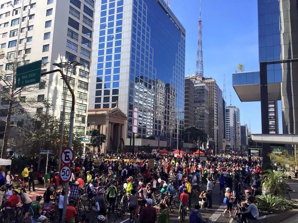 Fotografia do site da Prefeitura: a grande festa da paulista