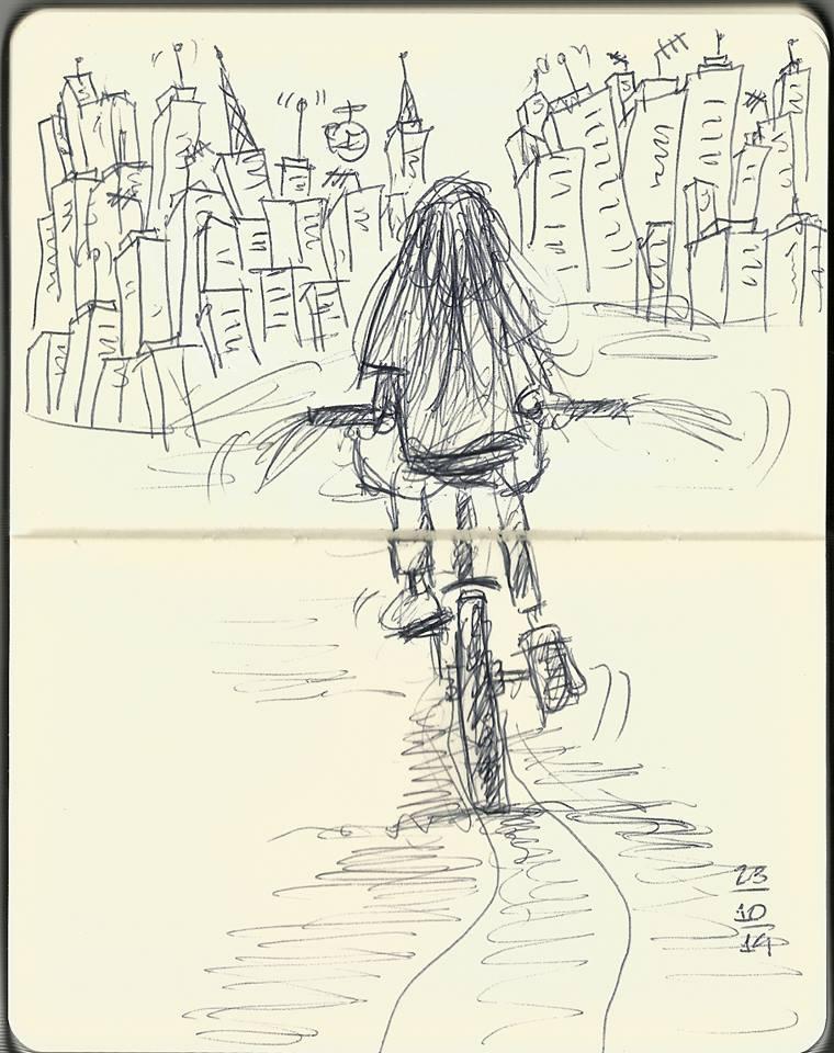 Desenho de Ivo Minkovicius