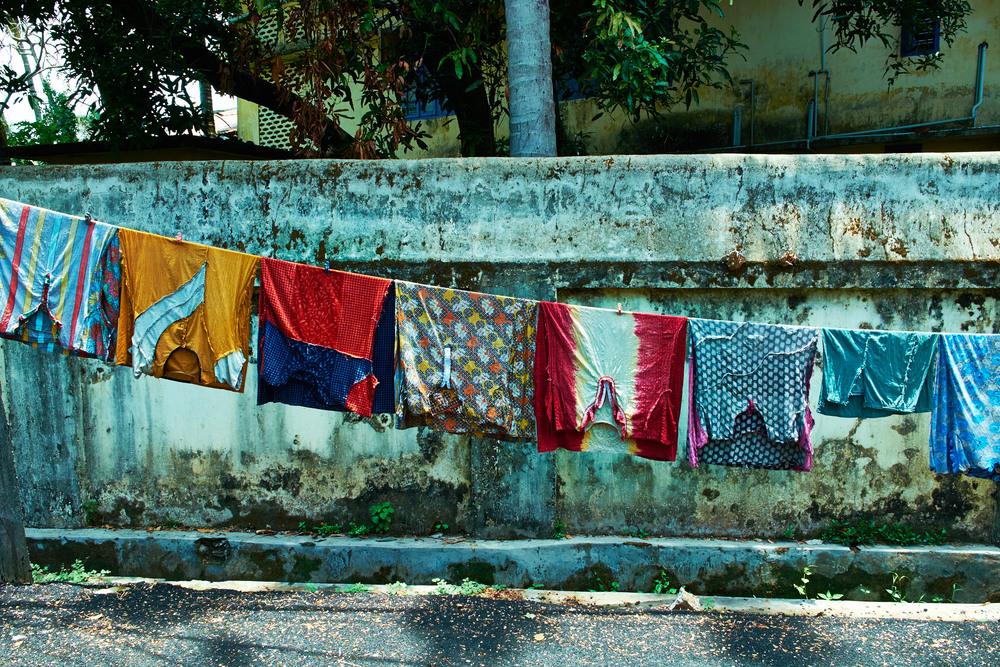 Laundry Line, Fort Kochi.