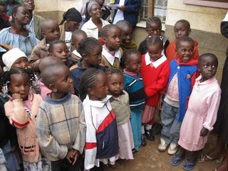 Students at The Kibera School for Girls