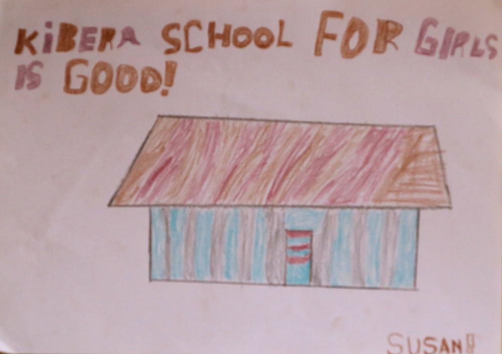 Kibera School for Girls is good! By Susan, 3rd Grade