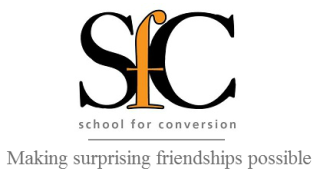 The  School for Conversion  works for beloved communities that unlearn habits of social division by experimenting in a way of life with Jesus that makes surprising friendships possible.