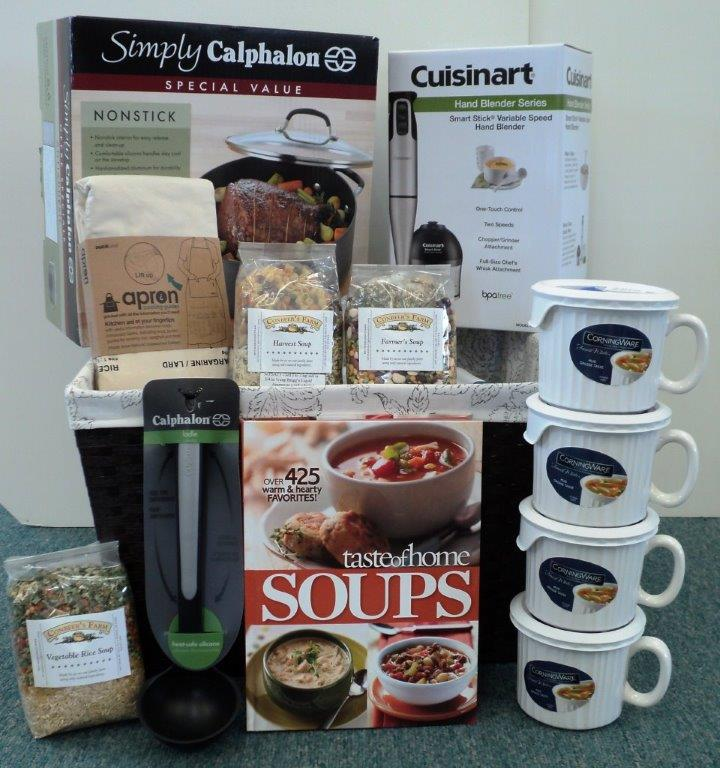 #12 Soup's On!, donated by: Colleen Leo & Lynn Kicinski