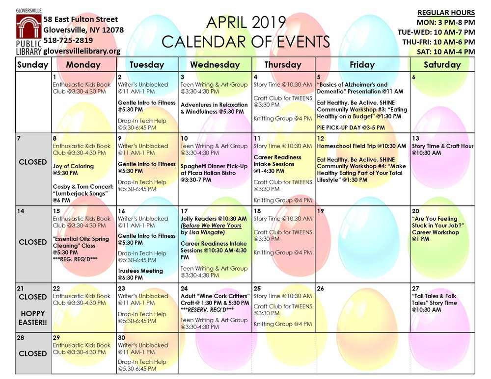 Click  here  to print a PDF of the calendar (2 pages)