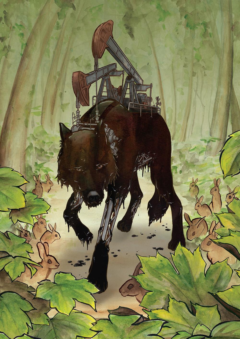 Oil Wolf