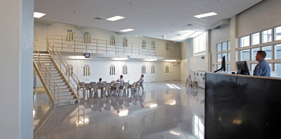 New Century KS Adult Detention Center, Johnson County KS (a HOK designed facility)