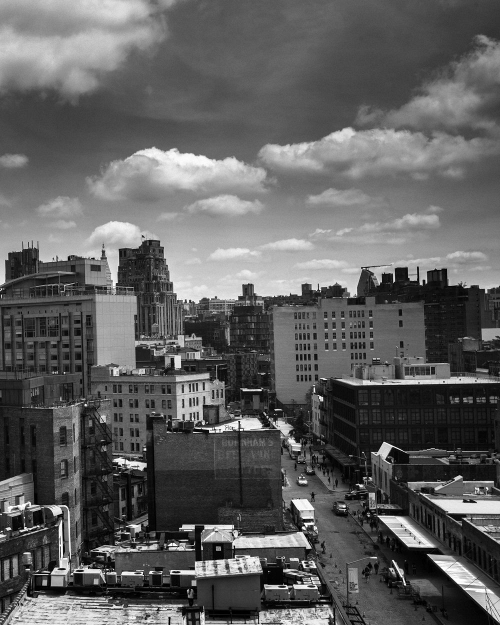 View from the Whitney Museum deck.