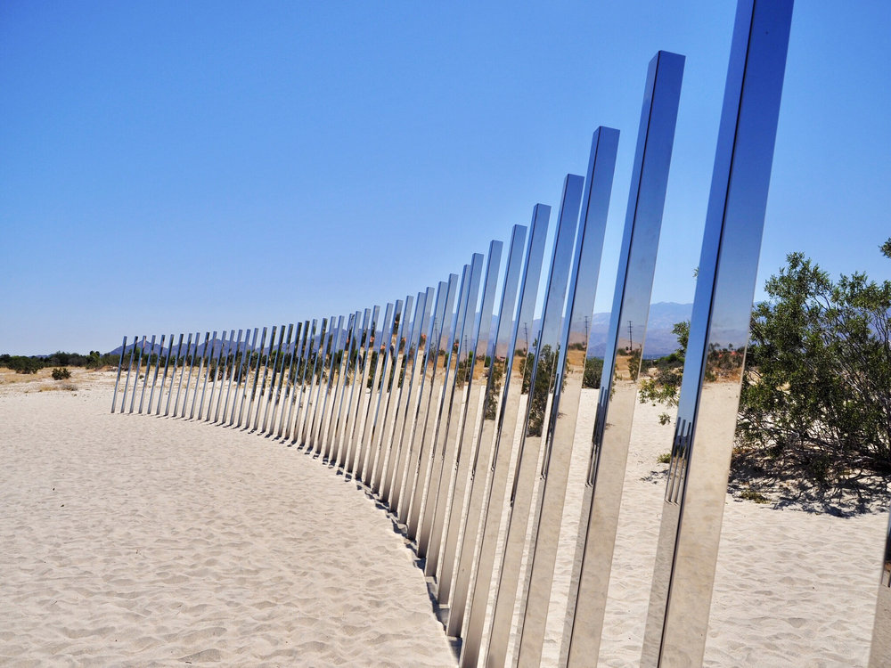 "Phillip K Smith's ""The Circle of Land and Sky"""