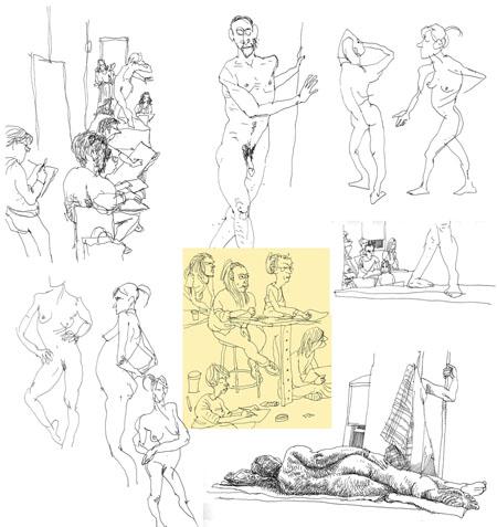 как рисовать голых людей:
