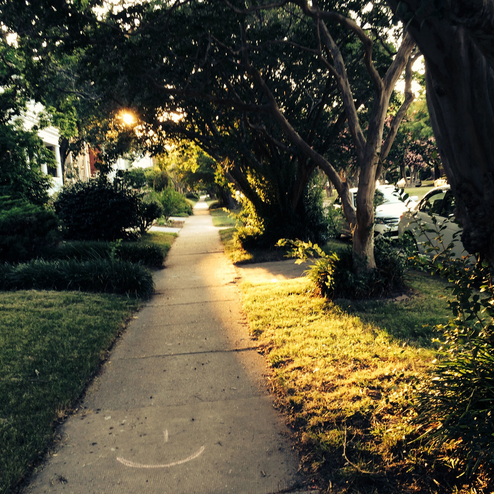 This is my street.