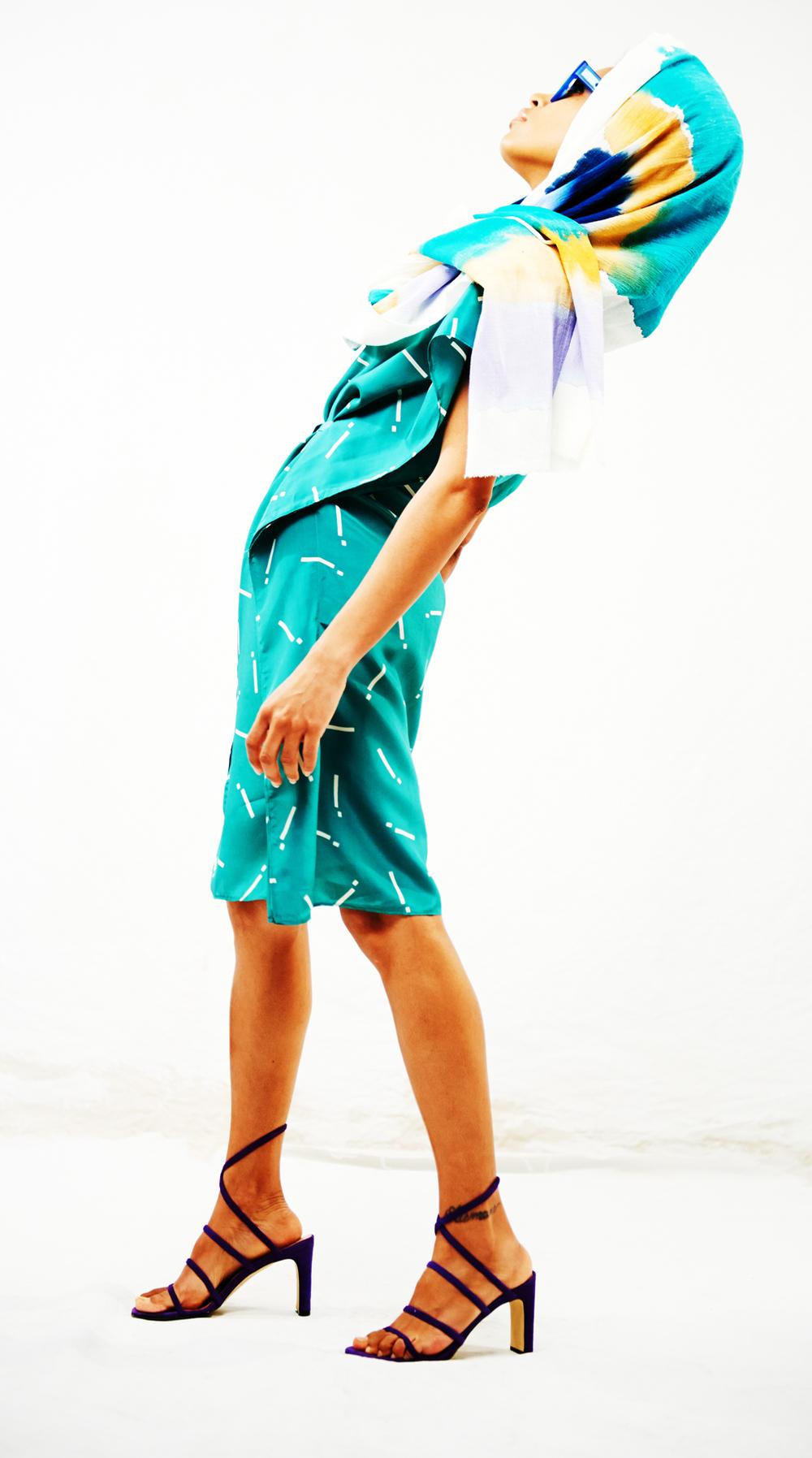 Linea Germania Dress and Scarf, Mengly Hernandez 6.jpg