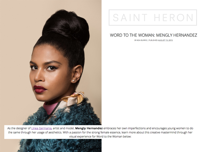 Saint Heron x Word to the Woman Feature