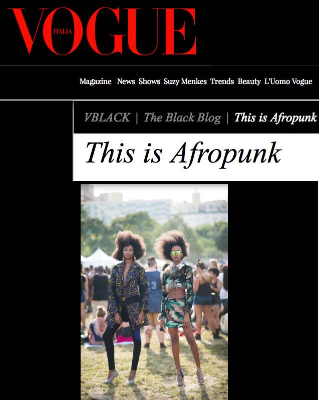 Fashion Stylist for Vogue Italia Editorial
