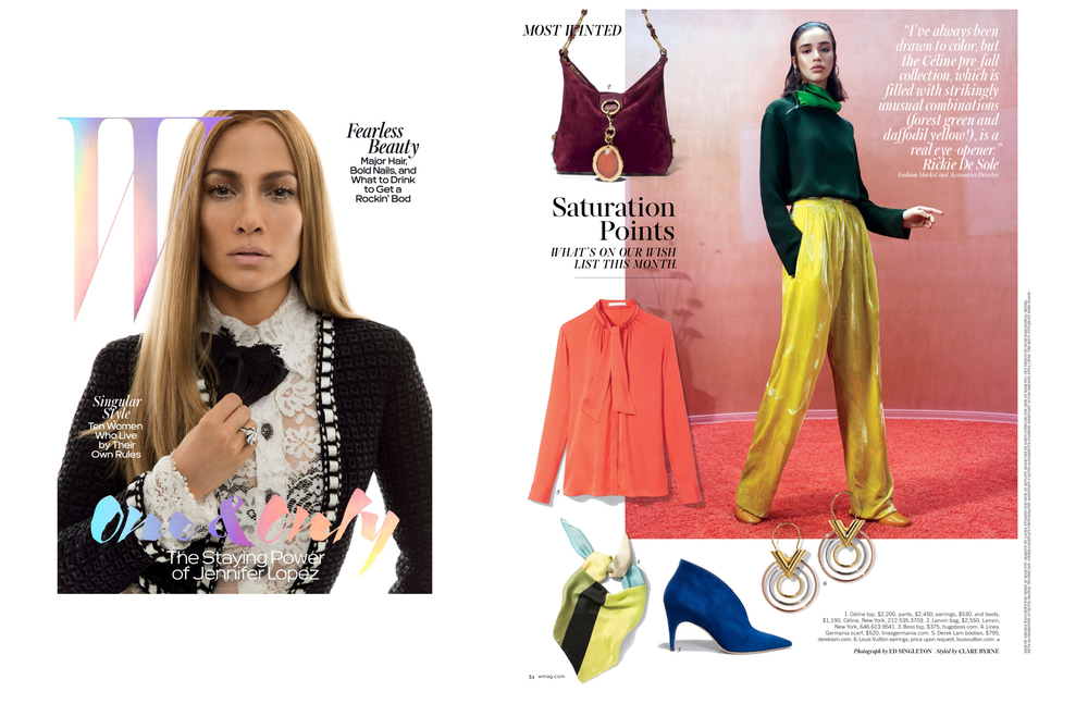 W MAGAZINE MAY ISSUE FEATURING LINEA GERMANIA SCARF.jpg