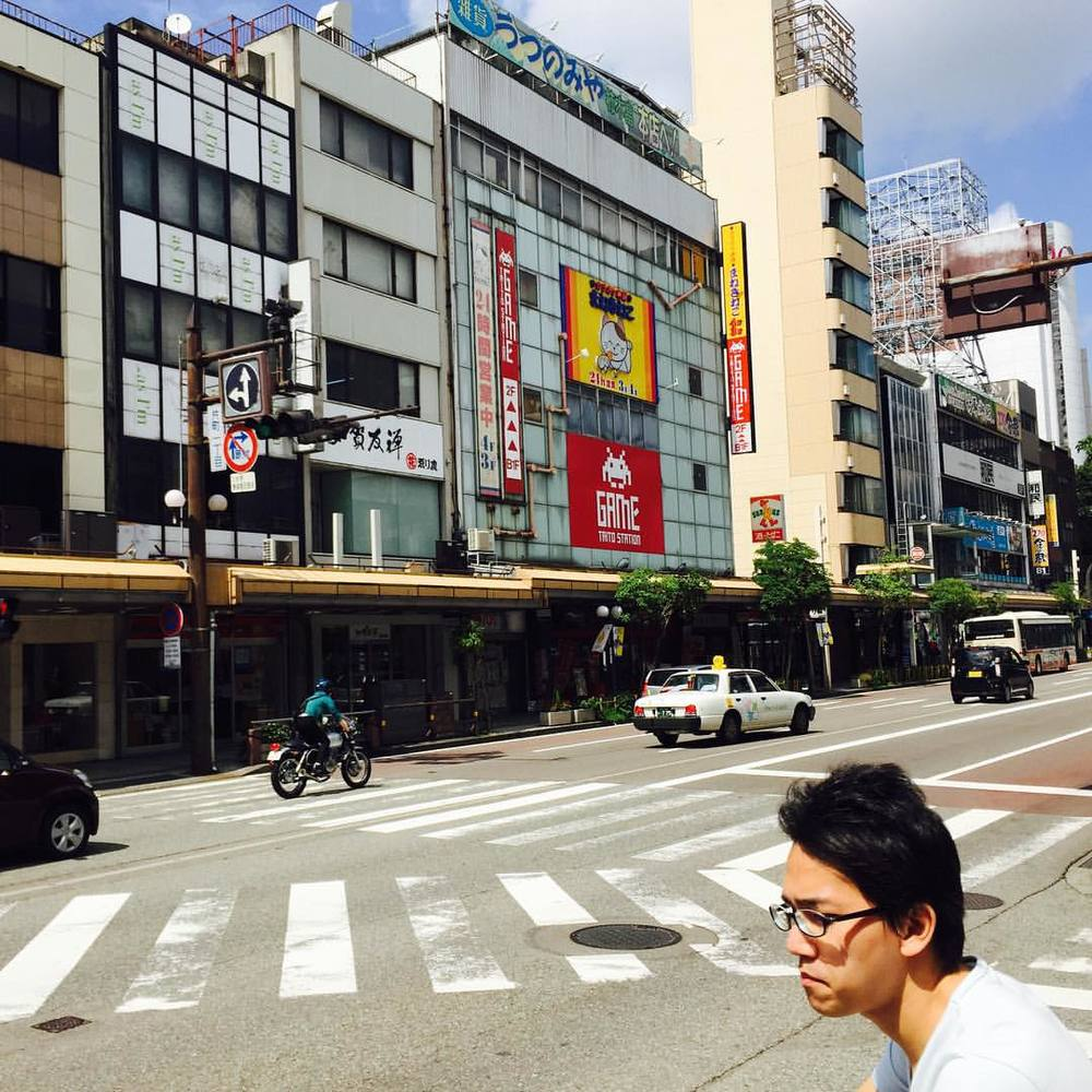 at Game Taito Station