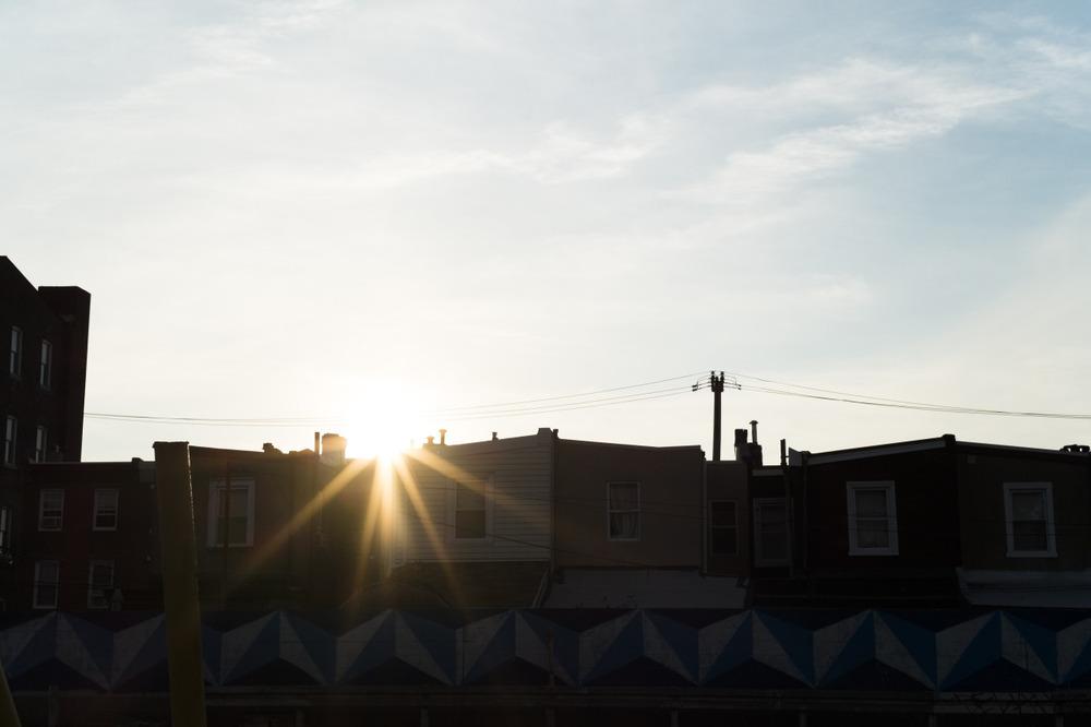 Sunset In Fishtown - Philadelphia, PA