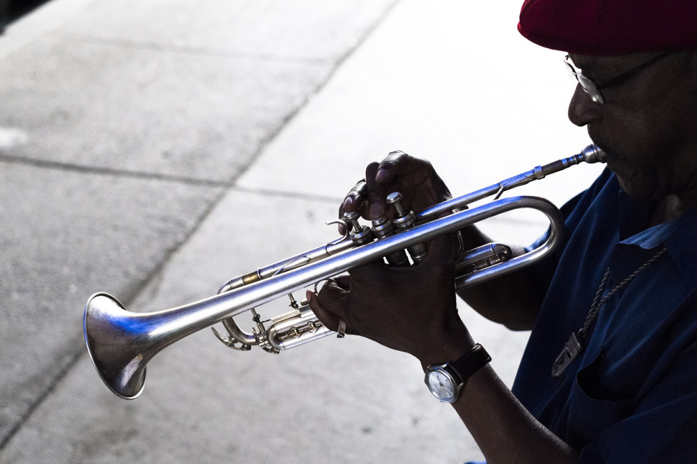 This is Al, 71 year-old self-taught trumpeter and lifelong Philadelphian.