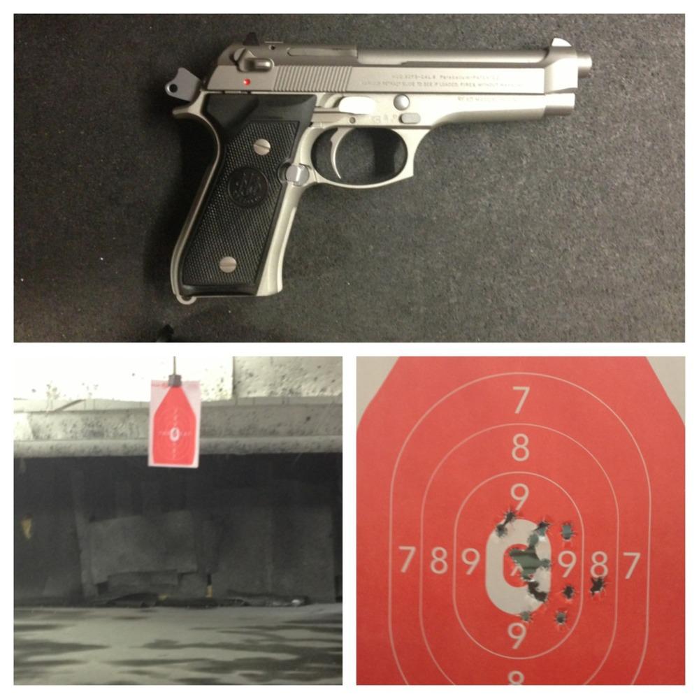 Beretta 9mm - center mass