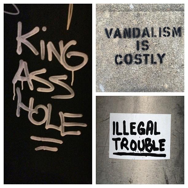 #vandalism #trouble #asshole #philadelphia