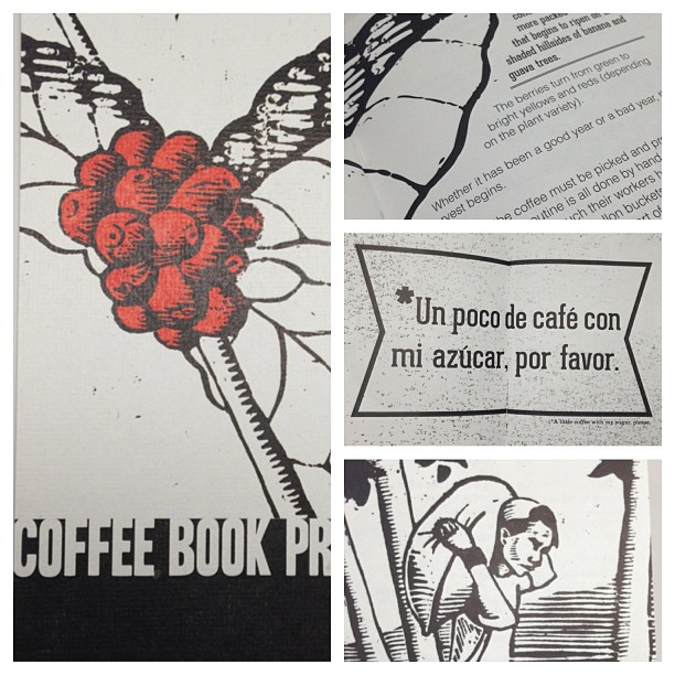 This also arrived today. Dope. #coffeebookproject  @nathanmajoros