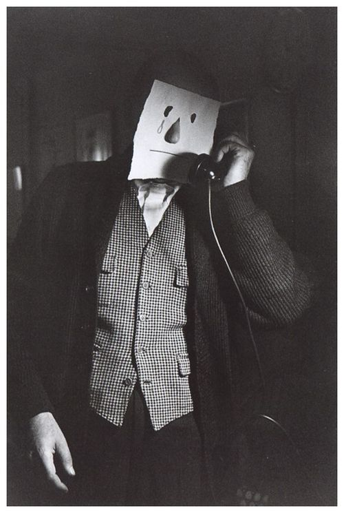 zeroing :     Saul Steinberg and Inge Morath