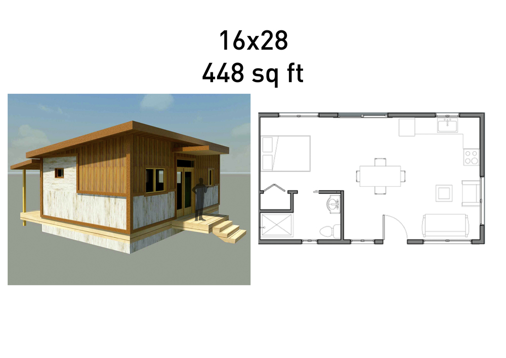 13 surprisingly 500 square foot cabin plans building for 500 square foot