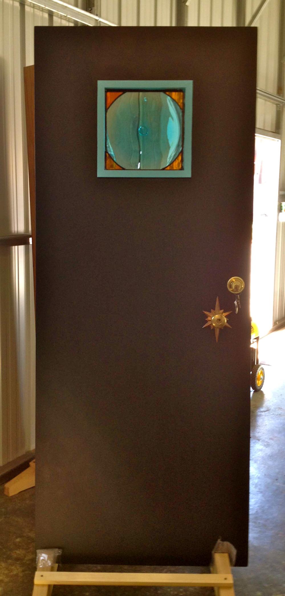 Solid Slab Exterior Door — Reclaimed Space