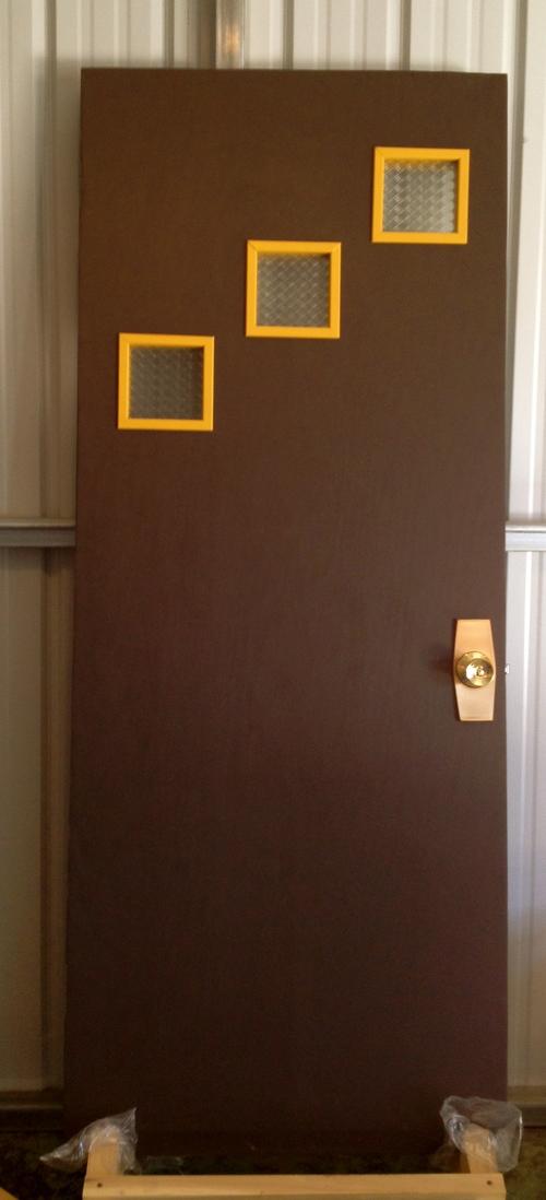 Mid Century Modern Interior Doors mid century modern interior door — reclaimed space