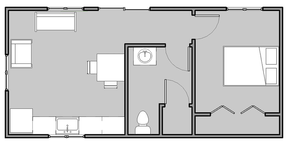28 14 x 30 floor plans 14 x 30 house plans floor for 16 x 50 floor plans