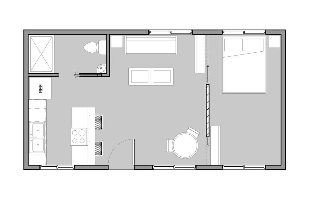 16x30 floor plan joy studio design gallery best design for 16 x 50 floor plans