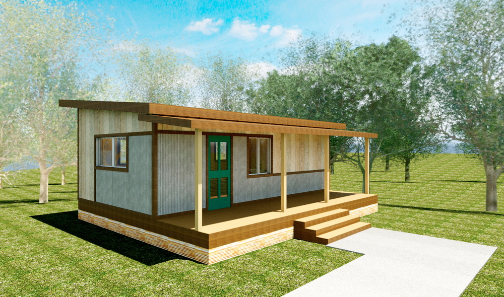Modularspaces Smallhomes Reclaimed Space
